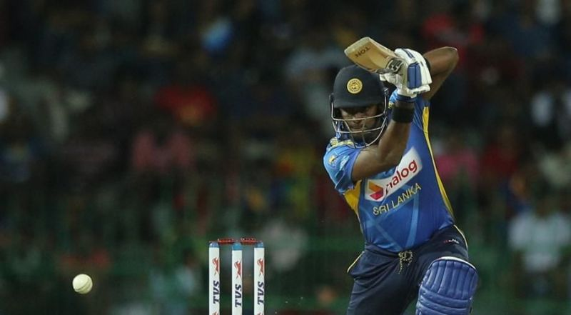 Angelo Mathews offered some hope to the Lankan Lions