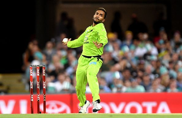 Nair plays for Sydney Thunder in the Big Bash League