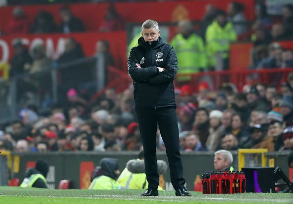 Ole Gunnar Solskjaer is under fire after some poor performances by Manchester United