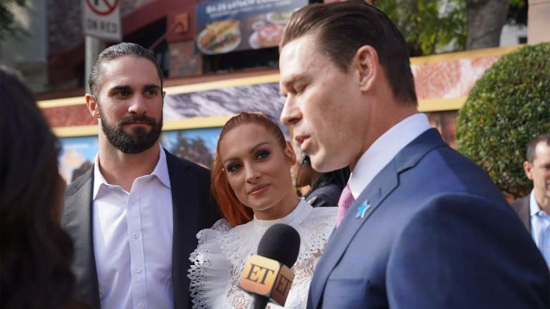 Rollins, Lynch, and Cena