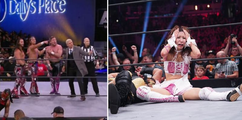 There were some absolutely shocking botches this week on AEW Dynamite