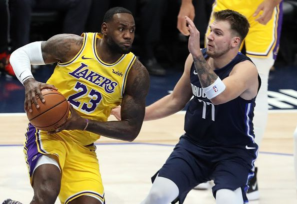 Doncic is next in line to LeBron as far as the best player in the league is concerned