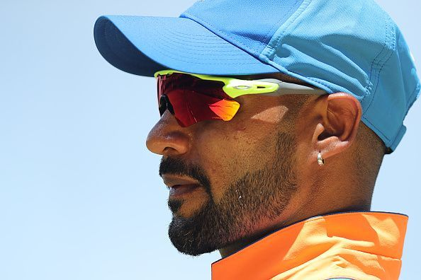 Shikhar Dhawan will not be available for the T20I series against New Zealand after suffering a freak injury.