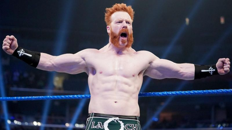 Sheamus returned with a huge pop in 2020