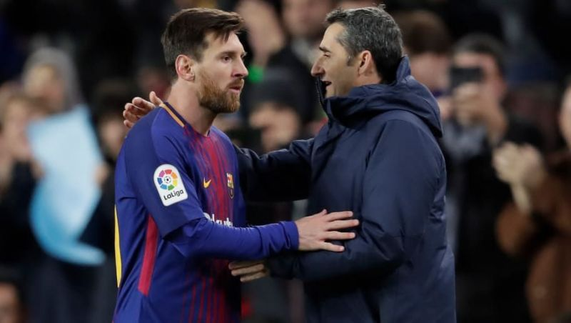 Ernesto Valverde has been over-reliant on Lionel Messi