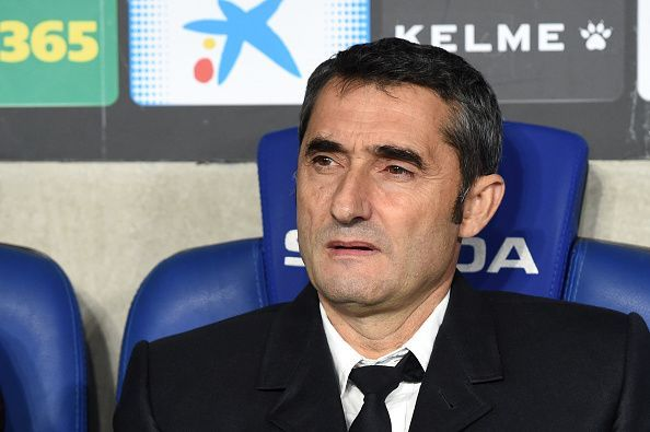 Valverde has been sacked as Barcelona manager