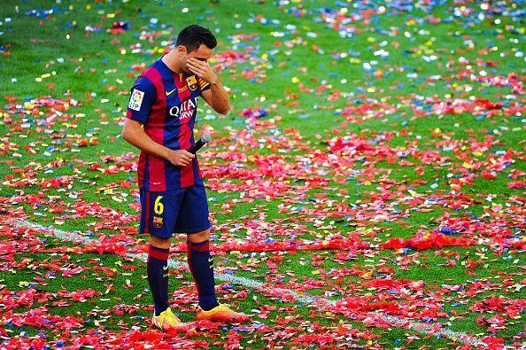 Club legend Xavi was reportedly Barca