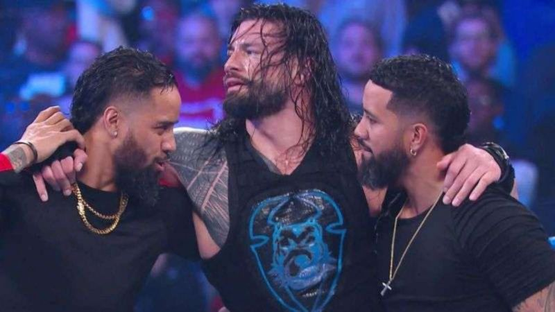 The Usos debuted their new look on SmackDown