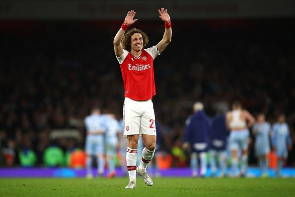 David Luiz enjoyed two successful stints at Chelsea before moving to Arsenal in 2019