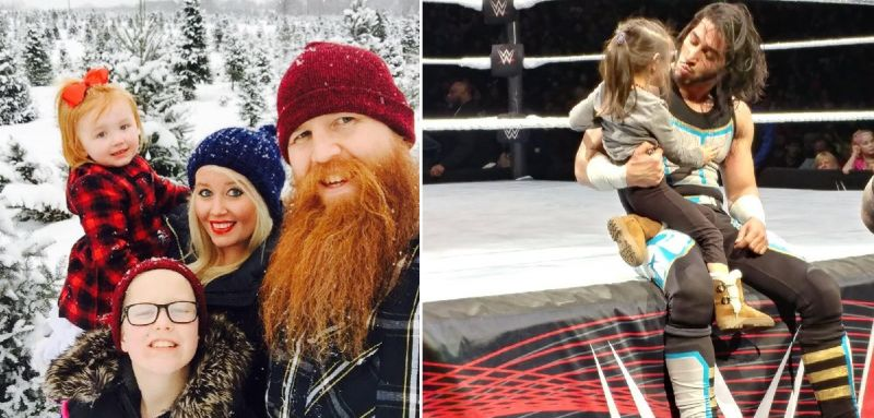 There are many WWE stars who juggle their careers and family life
