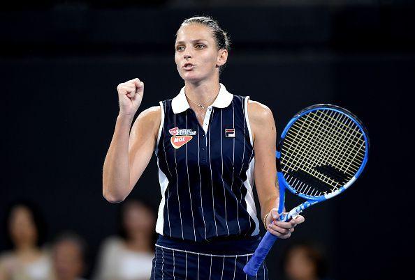 Karolina Pliskova had won the title in 2019.