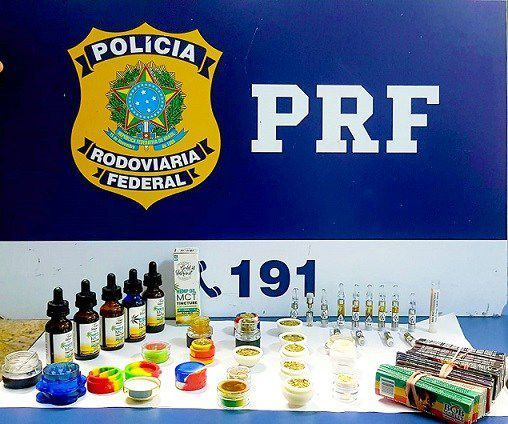 Picture of the drugs recovered. PC: Federal Highway Police.