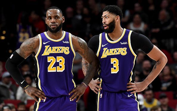 LeBron James and Anthony Davis are the only two players that the Lakers are not willing to trade