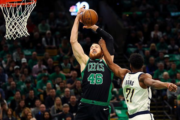 Aron Baynes spent two seasons with the Boston Celtics before being sent to the Suns