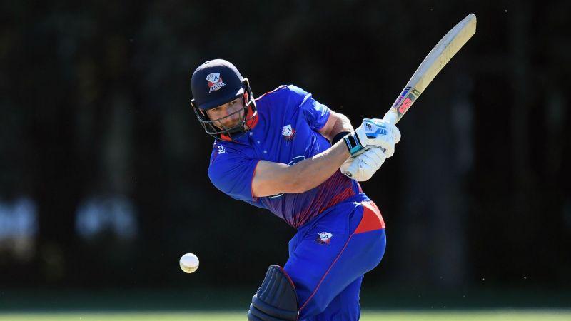 Auckland Aces batsman Glenn Phillips