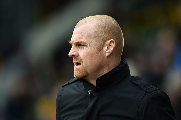 Sean Dyche may stick to the side that narrowly lost to Aston Villa last week