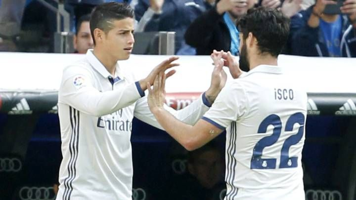 James and Isco have been pretty off-colour this season.