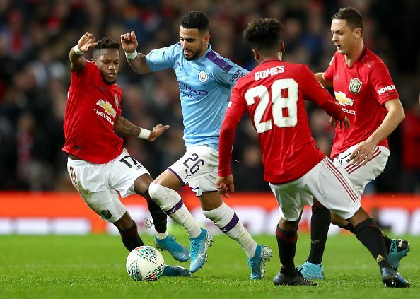Fred was done for precision in the Manchester United midfield