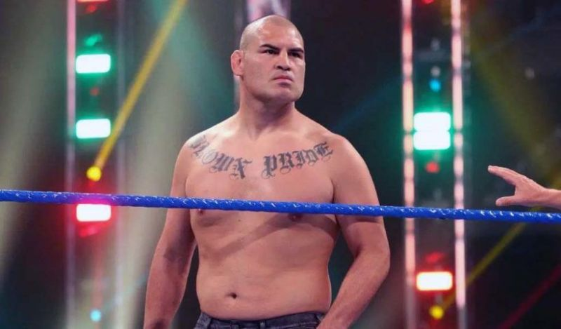Cain Velasquez signed with WWE last year.