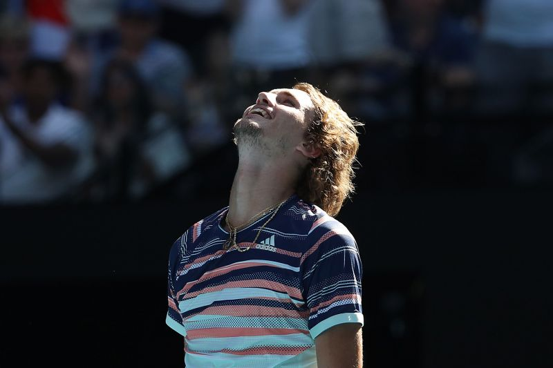 Alexander Zverev will be playing in his first Grand Slam semifinal.