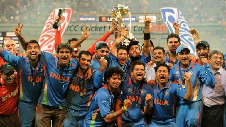 भारतीय टीम - 2011 वर्ल्ड कप विजेता