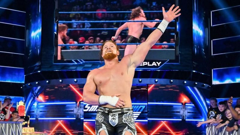 Buddy Murphy defeated Daniel Bryan