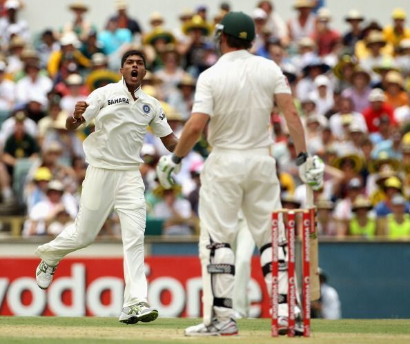 Umesh Yadav bowled like the wind in the Perth Test of 2012
