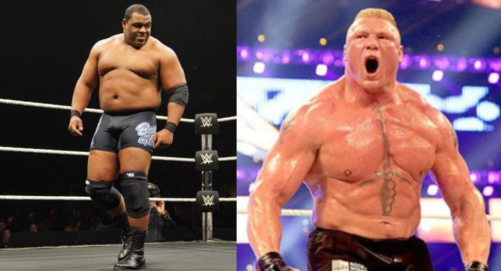 Keith Lee and Brock Lesnar