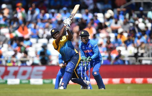 Angelo Mathews has a stellar record against India