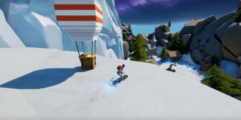 A Screenshot from Fortnite