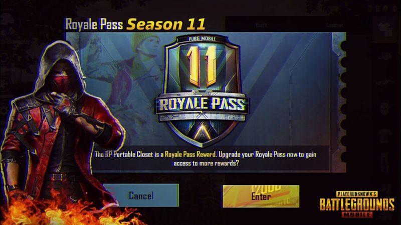 PUBG Mobile Season 11 Royale Pass
