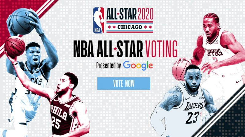 Fan voting for the 2020 NBA All-Star Game is currently underway (Image: NBA.com