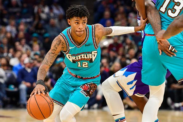 Ja Morant is among the talent vying to be named Rookie of the Year