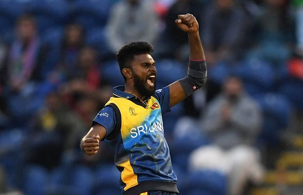 Isuru Udana injured himself in the field during the second T20I and is unlikely to feature in the series.