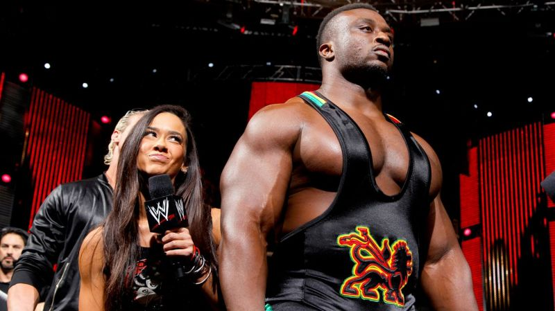 Big E aligned with AJ Lee and Dolph Ziggler in 2013
