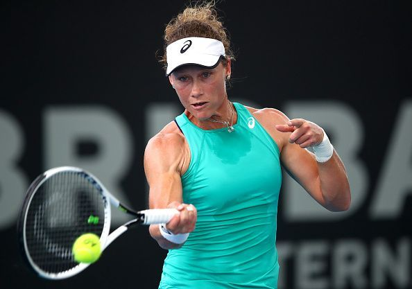 Samantha Stosur notched up a great win against Angelique Kerber in the opening round.