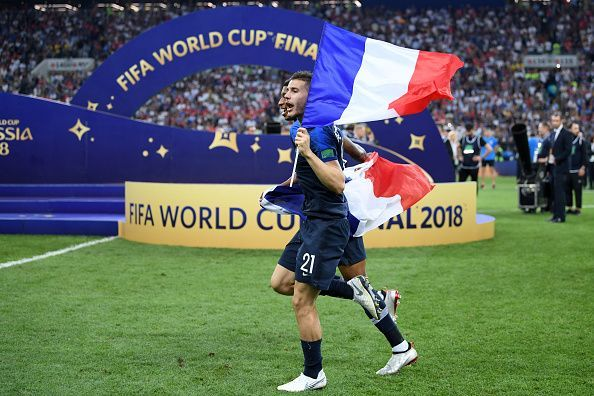 Hernandez was crucial for France during the 2018 World Cup