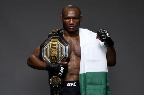 Kamaru Usman talks about a possible fight with Welterweight legend ...