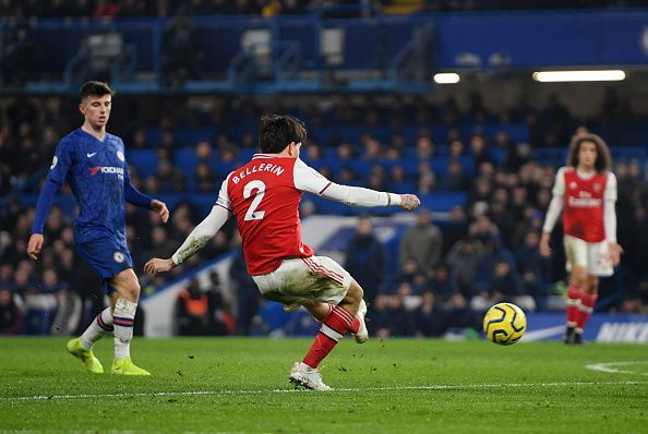 Chelsea let Arsenal come back from behind twice last night