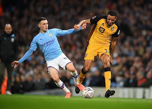 Manchester City v Port Vale - FA Cup Third Round