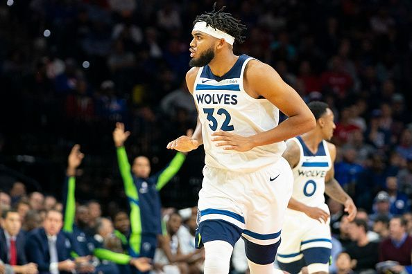 Karl-Anthony Towns has spent his entire career with the Minnesota Timberwolves