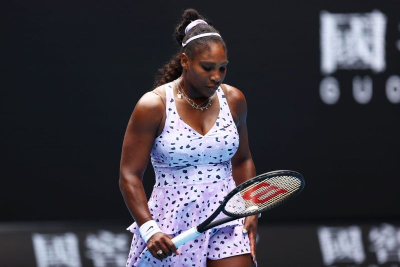 Is Father Time slowly and stealthily getting hold of Serena?