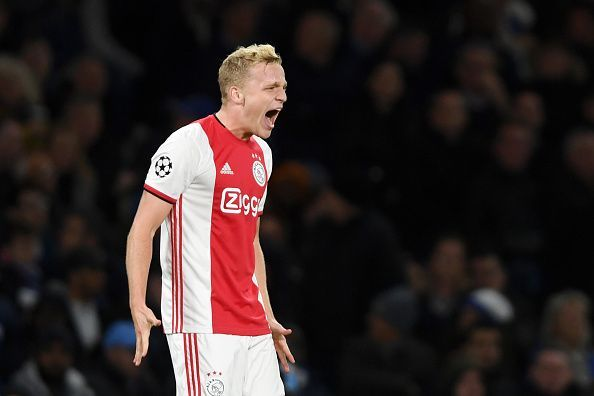 Donny van de Beek is set to remain at Ajax at least until the end of the season