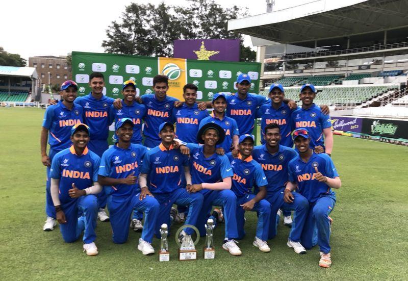 सीरीज जीतने के बाद भारतीय टीम