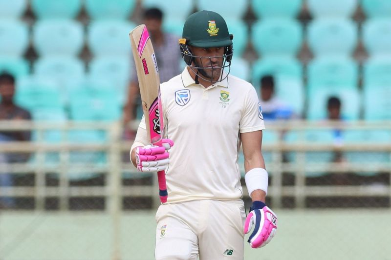 Faf du Plessis is South Africa