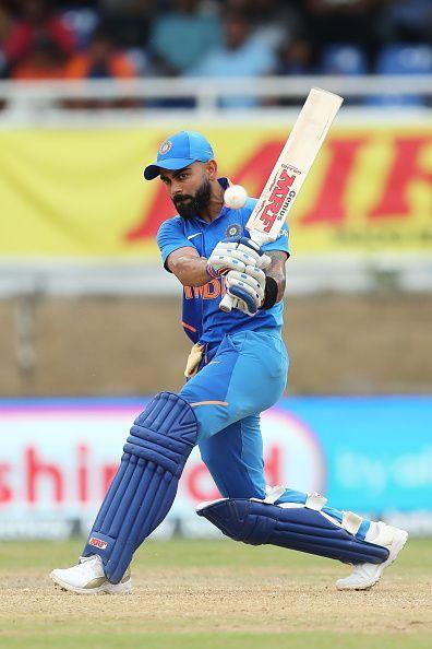 Virat Kohli in West Indies v India - One Day International Series