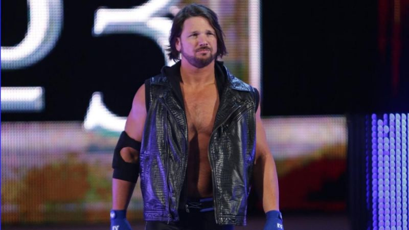 AJ Styles was a surprise entrant in the 2016 Royal Rumble.