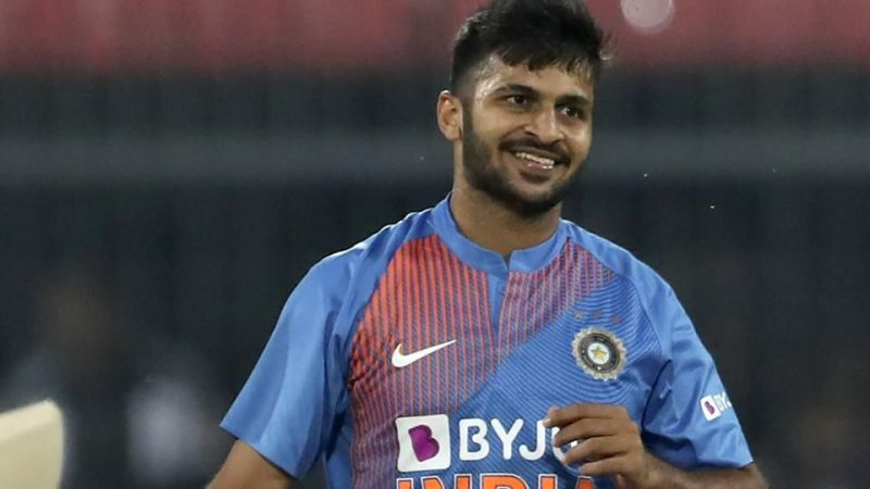 Shardul Thakur was impressive at the death as he picked up three wickets and helped restrict Sri Lanka to just 142 off their 20 overs