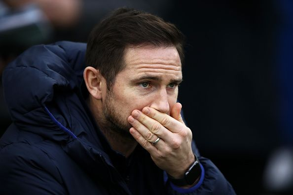 Frank Lampard and Chelsea are currently positioned at fourth place in the Premier League table