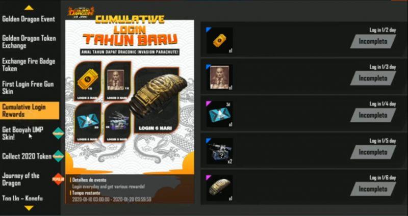 Golden Dragon banner(Photo from Advanced Server)